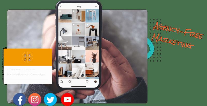 Agency-free marketing
